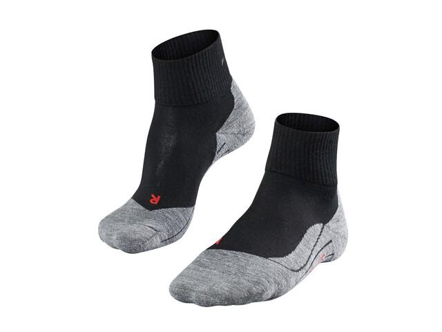 Falke TK5 Short Trekking Socks Women black-mix